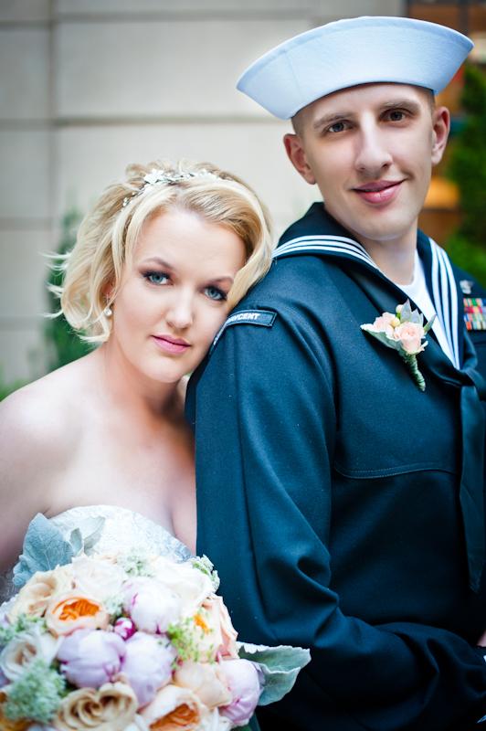 Matt and Melissa Mint Wedding