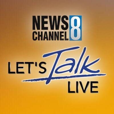 News Channel 8 - Let's Talk Live Andrew Roby Events