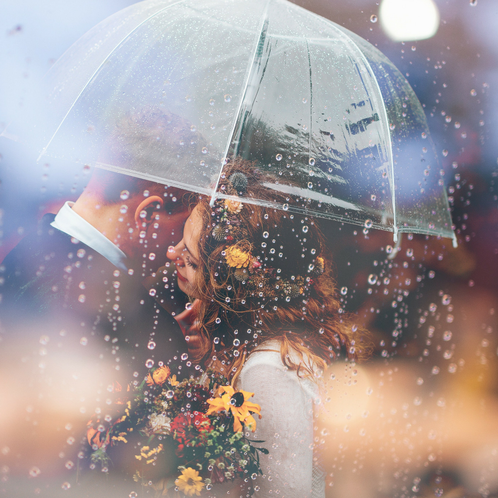 Joel Overbeck - Couple Getting Married In The Rain