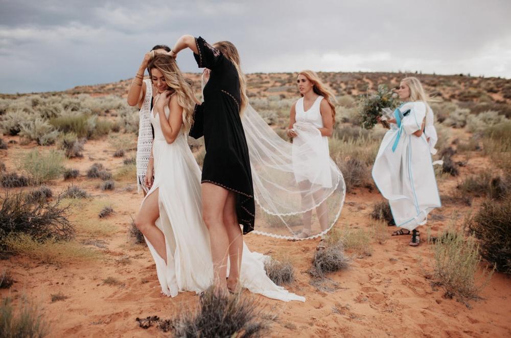 Grand Canyon Destination Wedding -Jordan Voth Photography