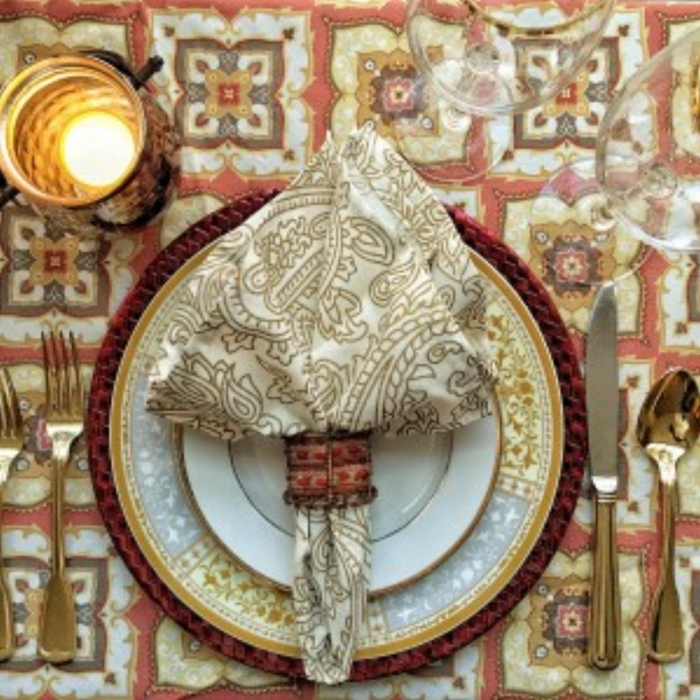 Thanksgiving Dinner Place Setting