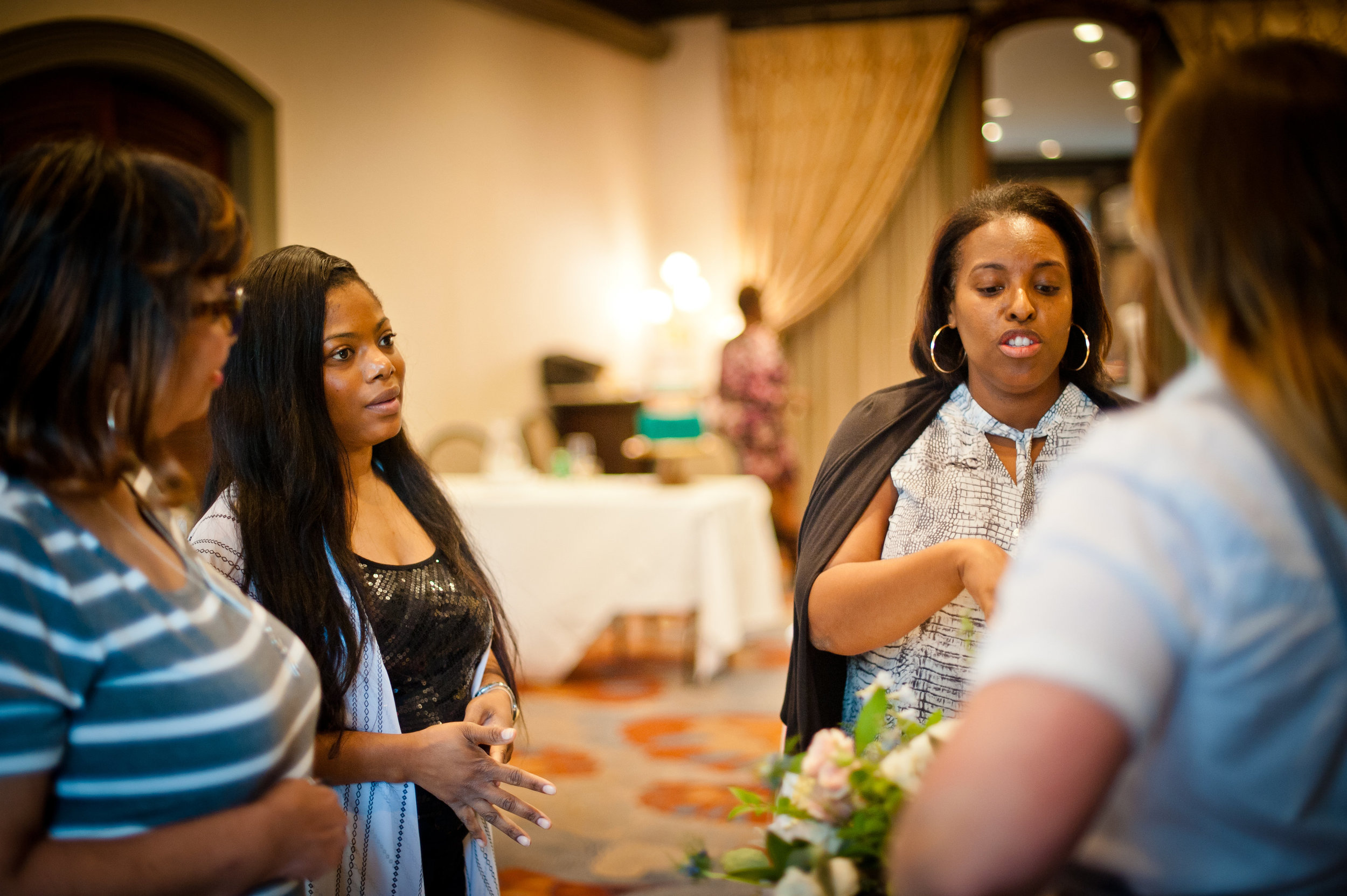 form valuable connections - The environment we create is about problem solving and creating concepts that reflects your style for your ideal client. Share ideas and build relationships with the area's leading Wedding Professionals.