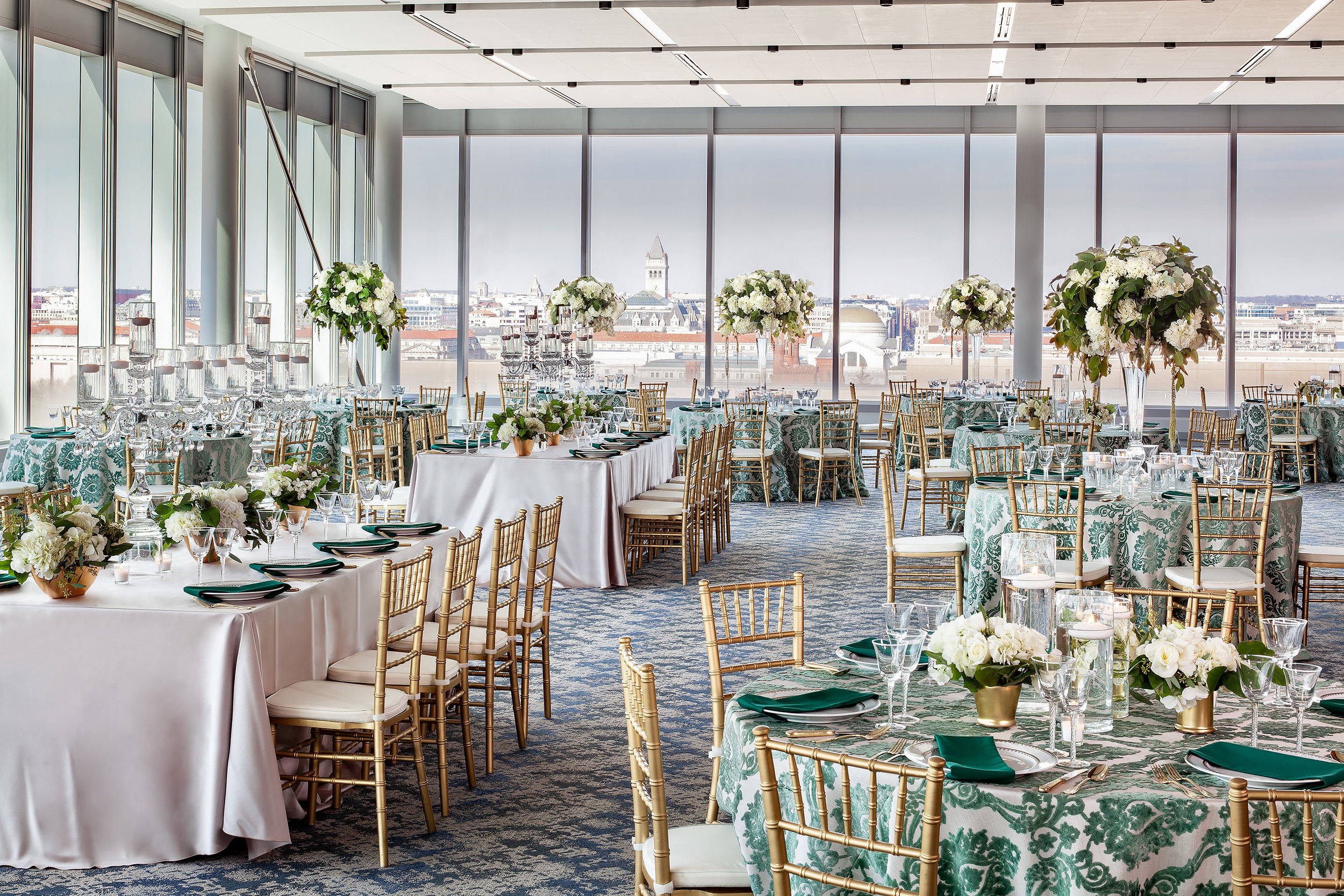 Dinner Reception by Andrew Roby Events