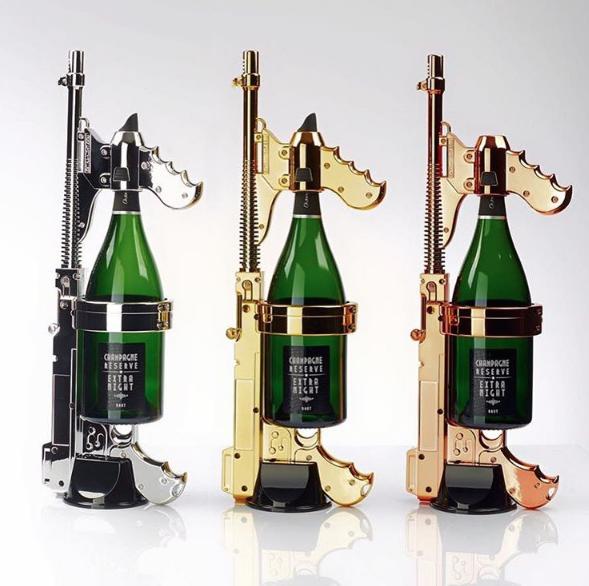 Champagne Cannon via Night Club Shop