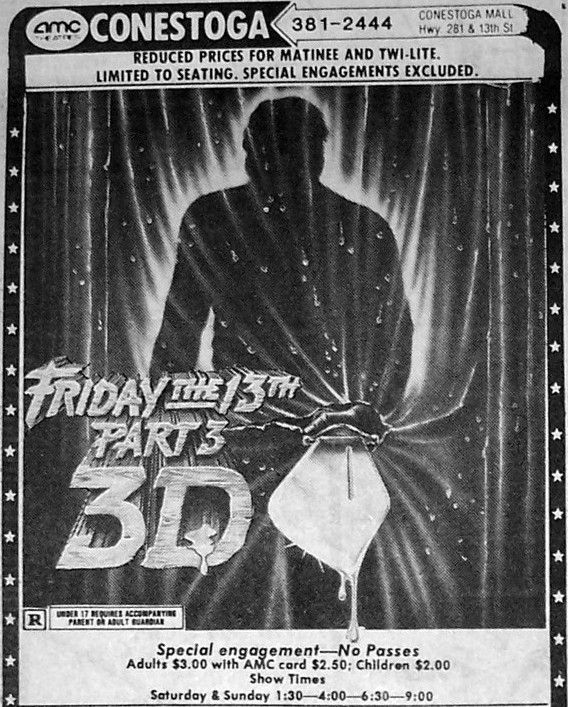 FRIDAY THE 13TH PART III (1982) newspaper ad.jpg