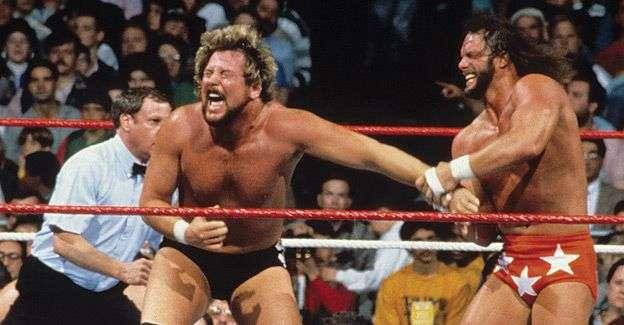 RANDY SAVAGE vs. TED DIBIASE - WRESTLEMANIA IV1988