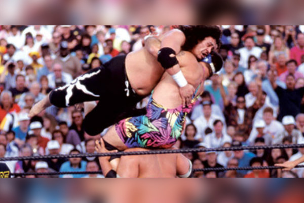 THE HEADSHRINKERS vs. THE STEINER BROTHERS - WRESTLEMANIA IX1993