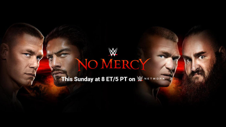 WWE NO MERCY 2017 - ROTTEN REVIEW
