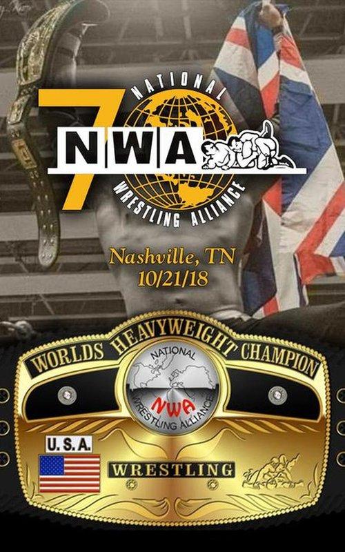 NWA 70th ANNIVERSARY SHOW - 75/100