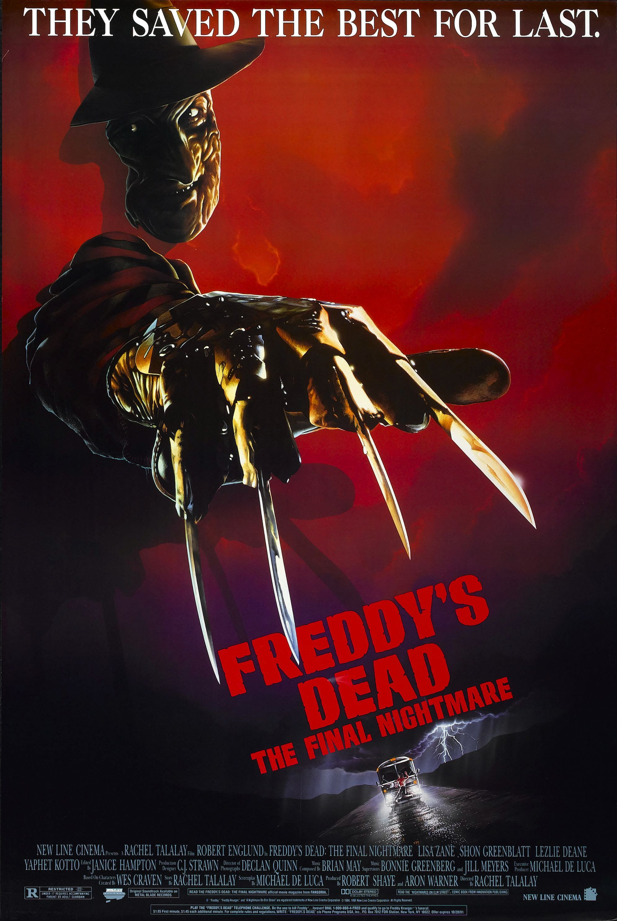 9 - Freddy's Dead: The Final Nightmare