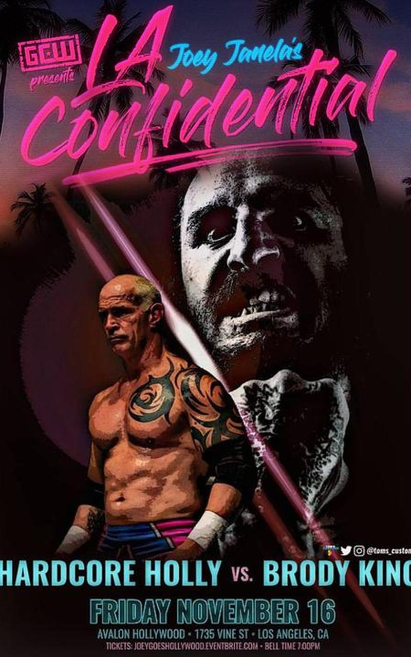 GCW Presents: JOEY JANELA'S LA CONFIDENTIAL - 77/100