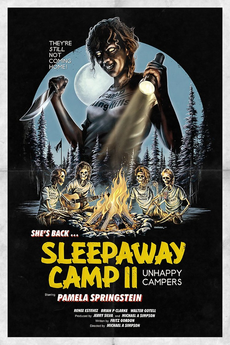 Sleep Away Camp II: Unhappy Campers (1988) - This is a great late-night slasher that would have been at home on USA's Up All Night or something like that. (55/100)