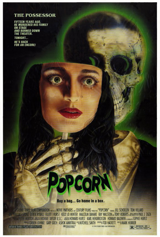Popcorn (1991) - I had fun watching this, of course I was a few beers in and could stand a movie this horrid. (44/100)