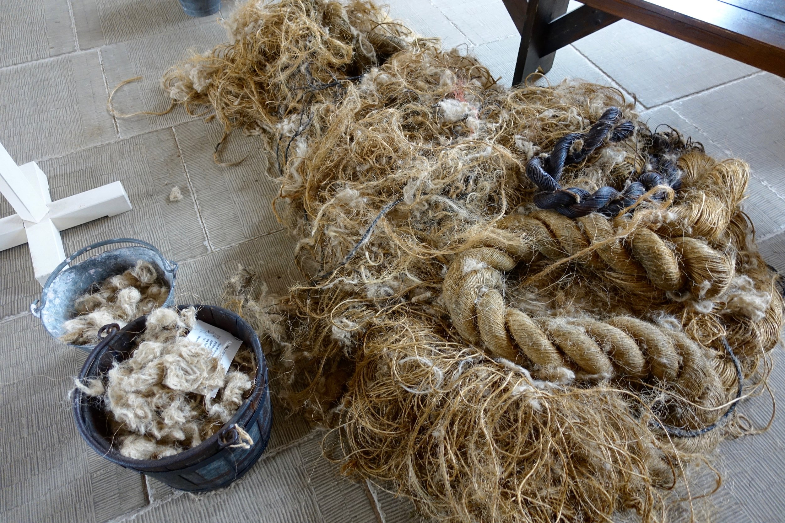"""""""Money for old rope"""" is a saying that originated in the workhouse. Men would pick apart old rope and sell it back to ship owners to use as caulking between planks."""