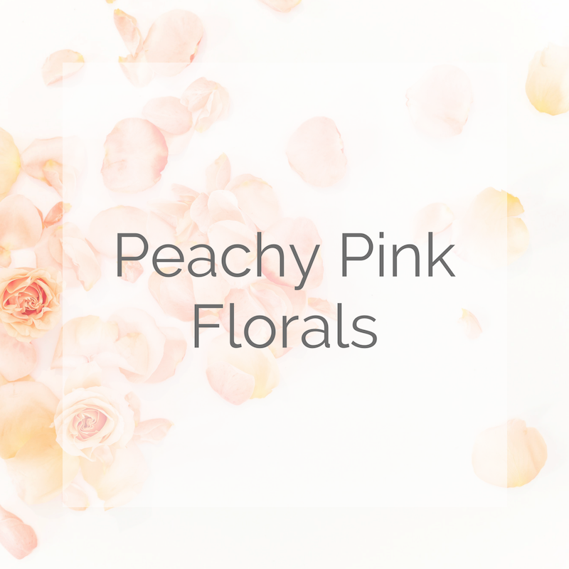 Peachy Pink Florals