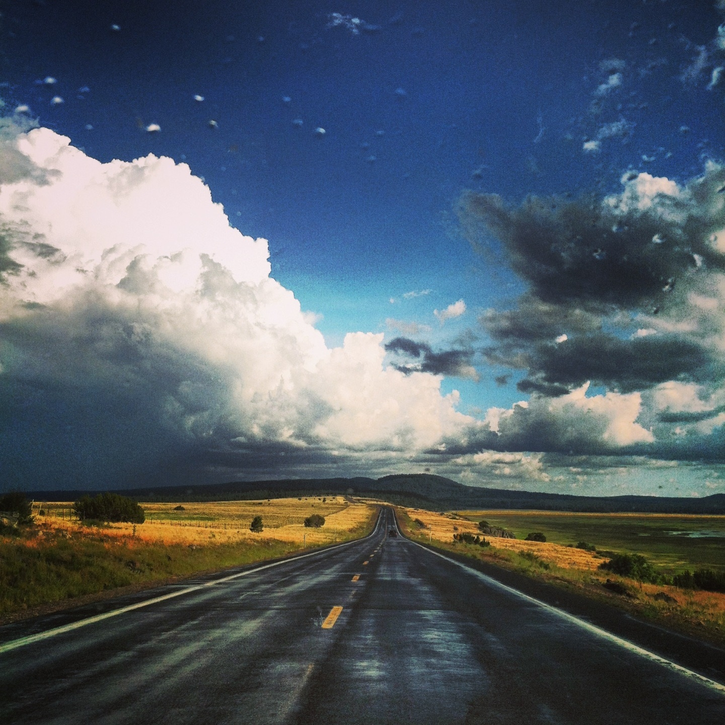 Northern Arizona highway ( photo by Gabrielle Pietrangelo)