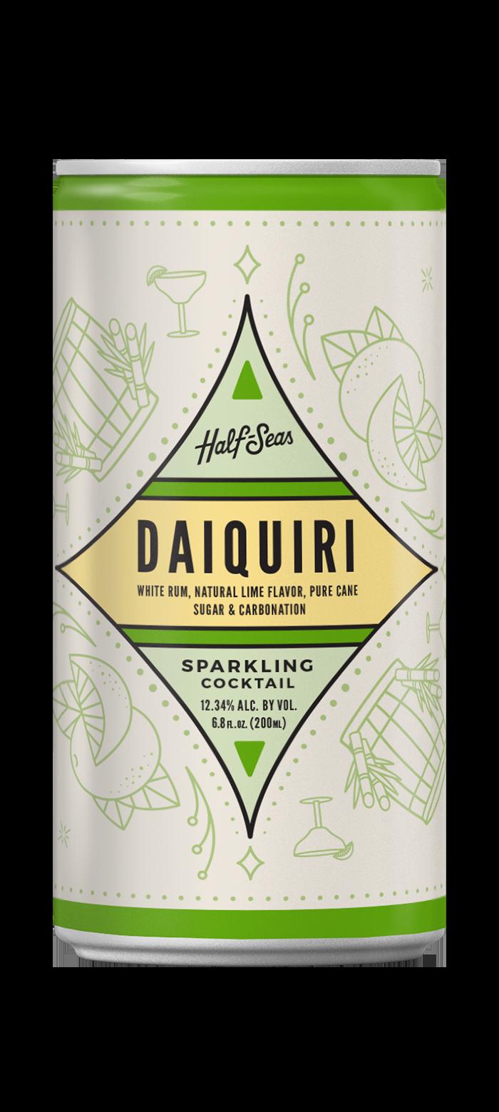 daiquiri rum cocktail in a can