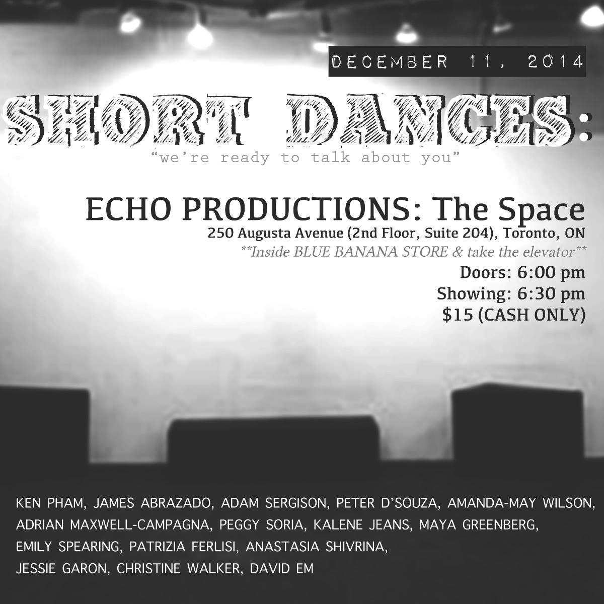 Dec 2014 - The Space