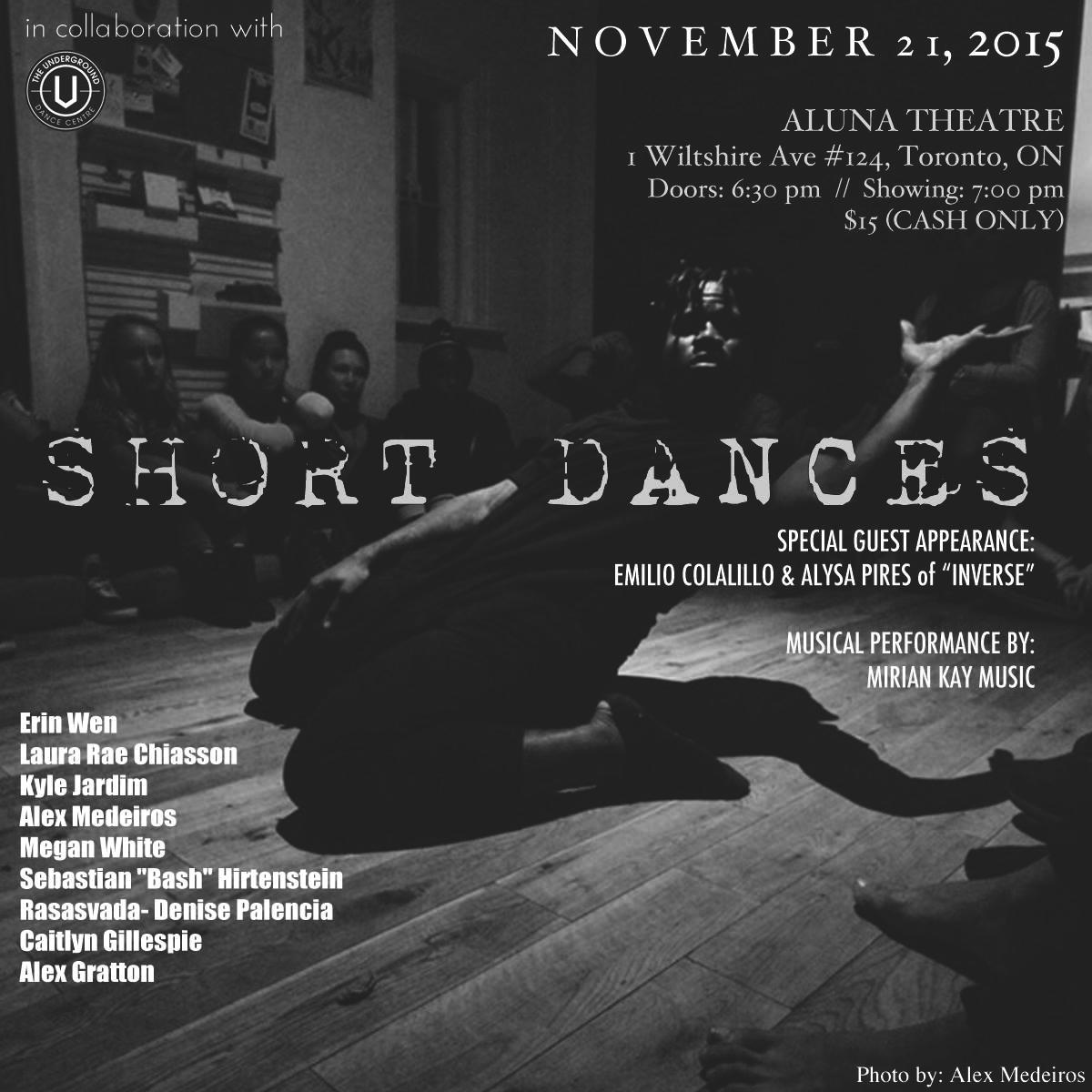 Nov 2015 - Aluna Theatre