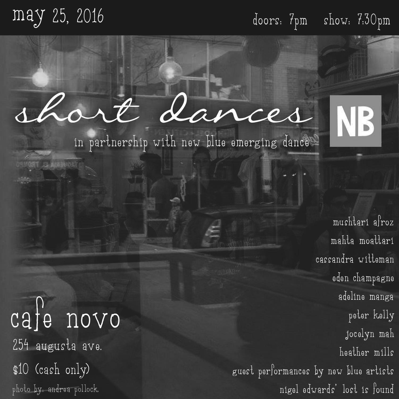 May 2016 - Cafe Novo
