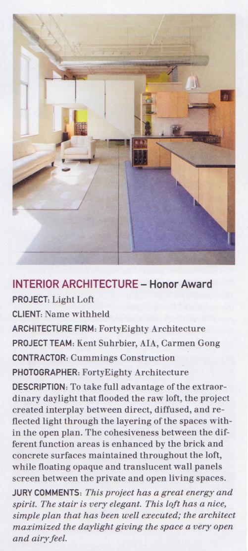 Columns Magazine, December 2008