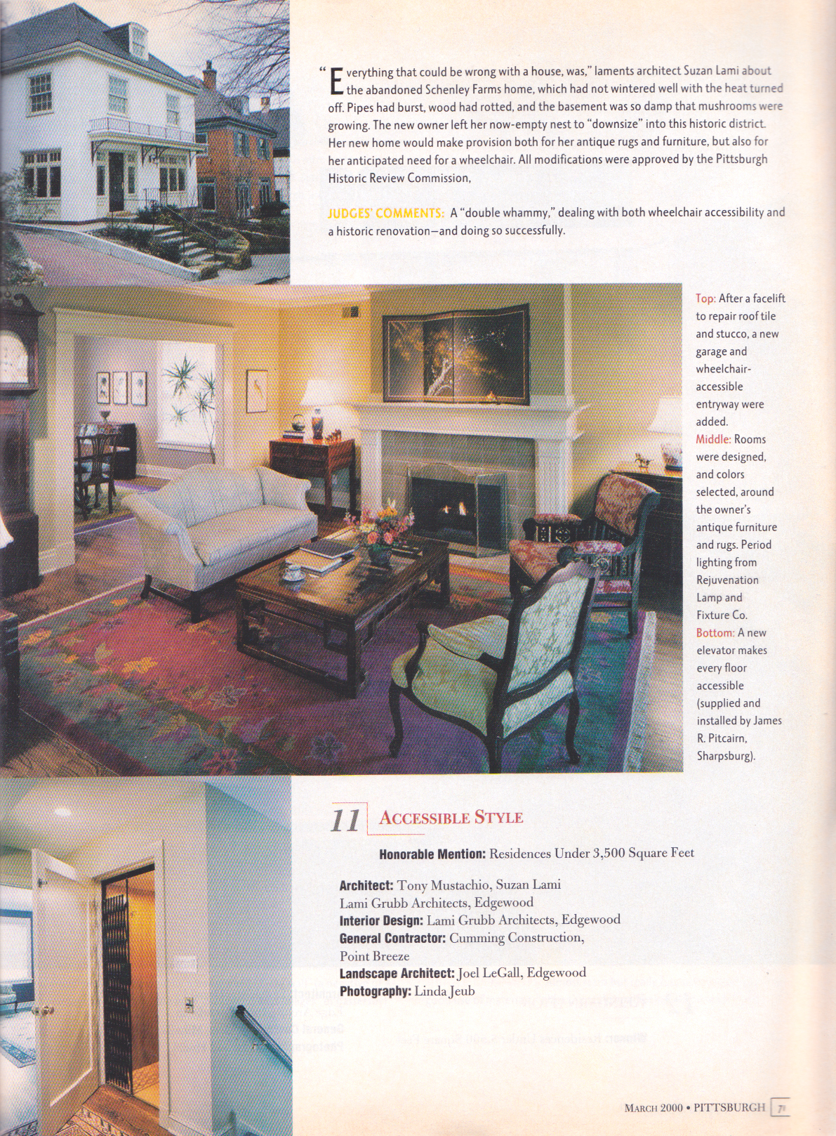 Pittsburgh Magazine, March 2000