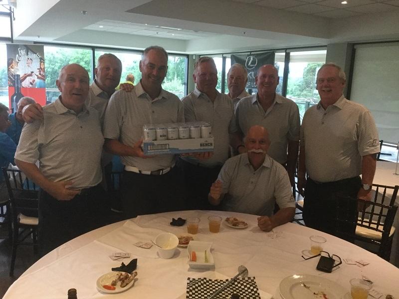- From Left:Woody McKaig, Joe Spiler, Joe Miszk, Frank Mortensen, Peter Vandervalk, Tim Stewart, Doug Piett & Ian Penney