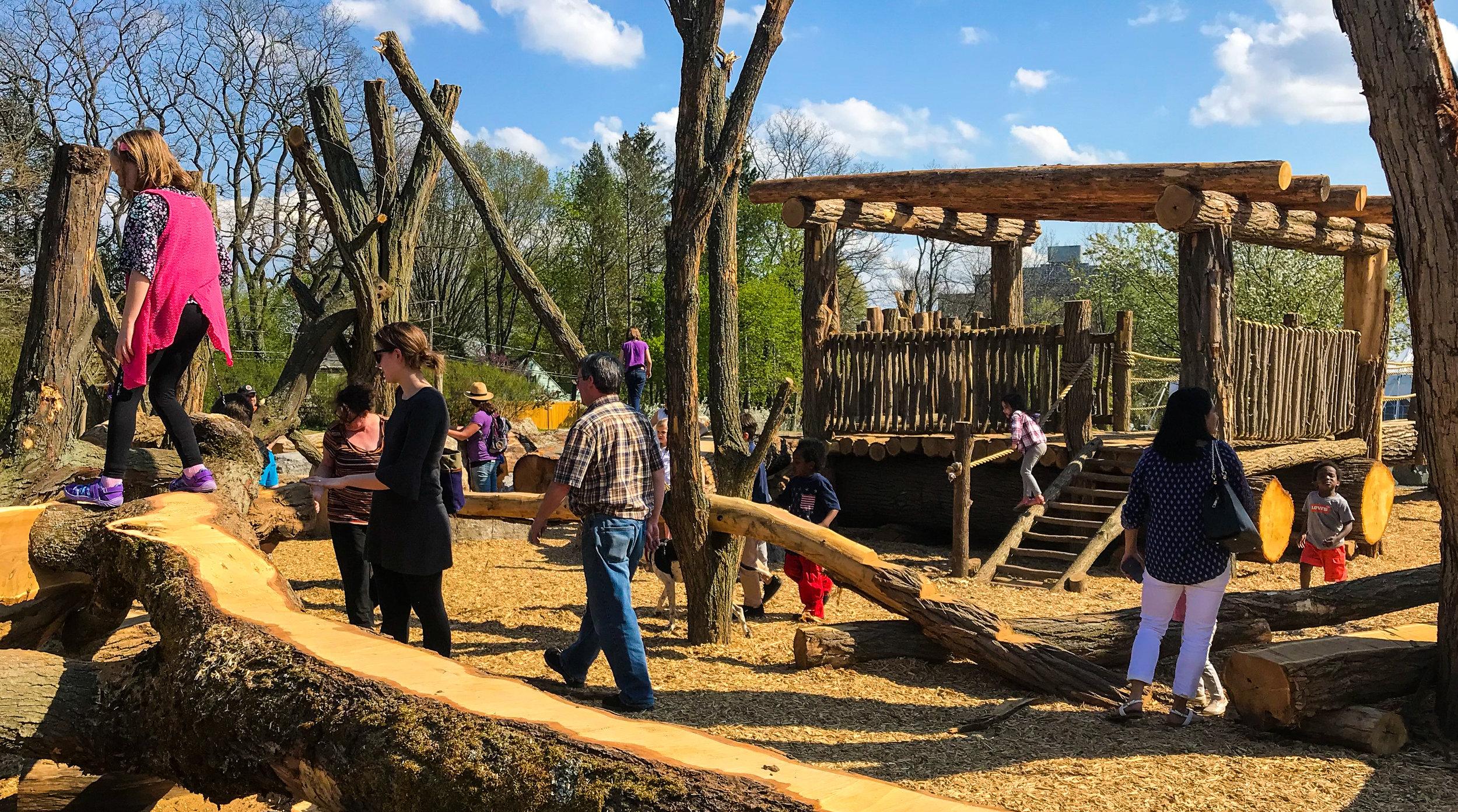 Highland Park Lilac Adventure Zone — Barton & Loguidice