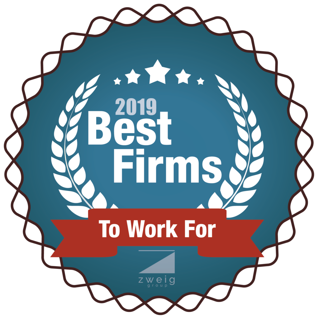 "B&L has been voted one of 2018's ""Best Firms to Work For"" by Zweig Group"