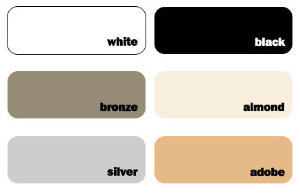 Window Frame Colors