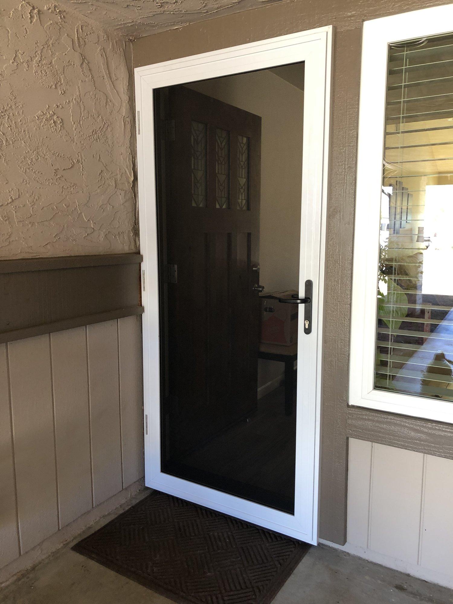 Vista Security Screen Doors