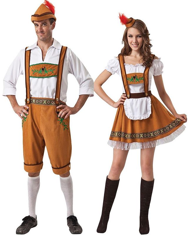 Four weekends of #Oktoberfest starts today in Hunter!  Anyone who shows up @jagerberghall dressed like this gets a free beer! 🍻 #catskills #hunterny
