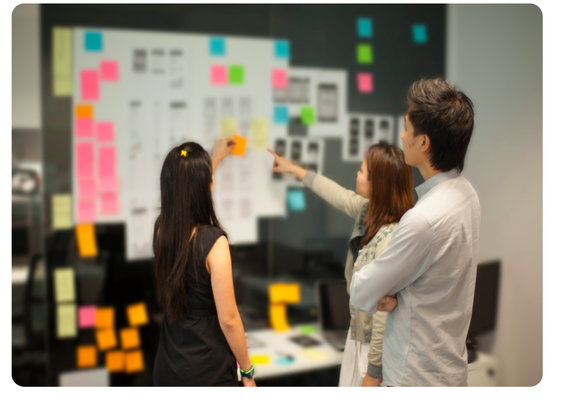 Designers utilize many methods of research to quickly organize potential ideas, thoughts, & solutions