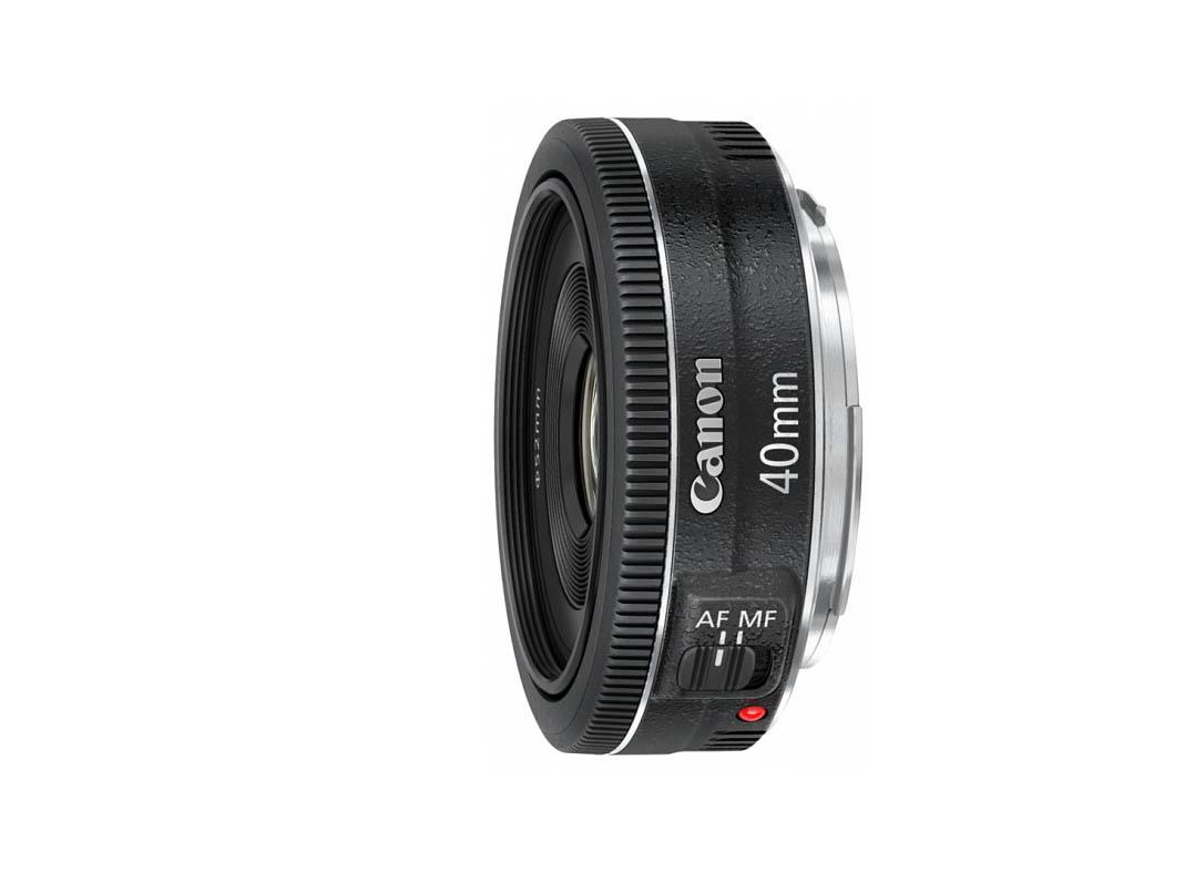 Canon EF 40mm F/2.8 STM Pancake - A
