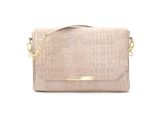Croc textured Cork purse by  Rok Cork