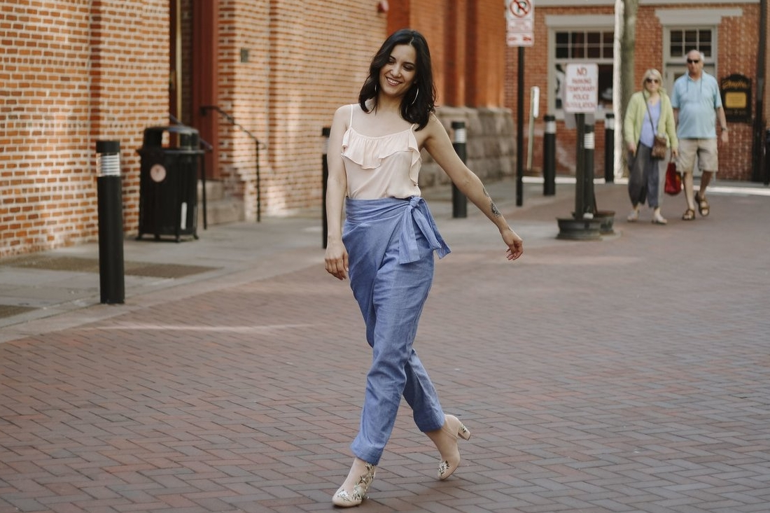 From the blog:  How To Style Even The Funkiest Ethical Pieces With Stuff You Already Own