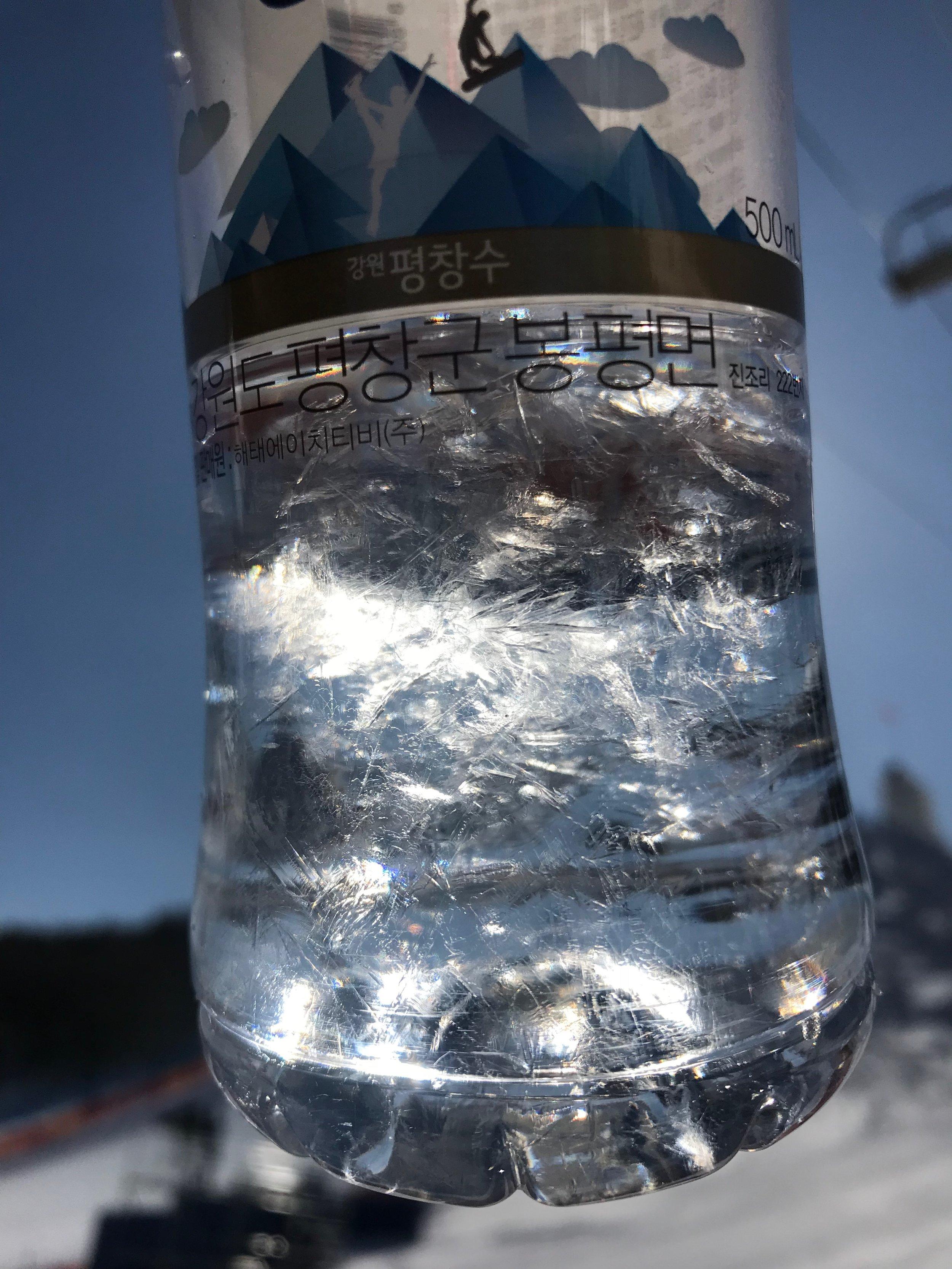 Wenn das Trinkwasser gefriert...