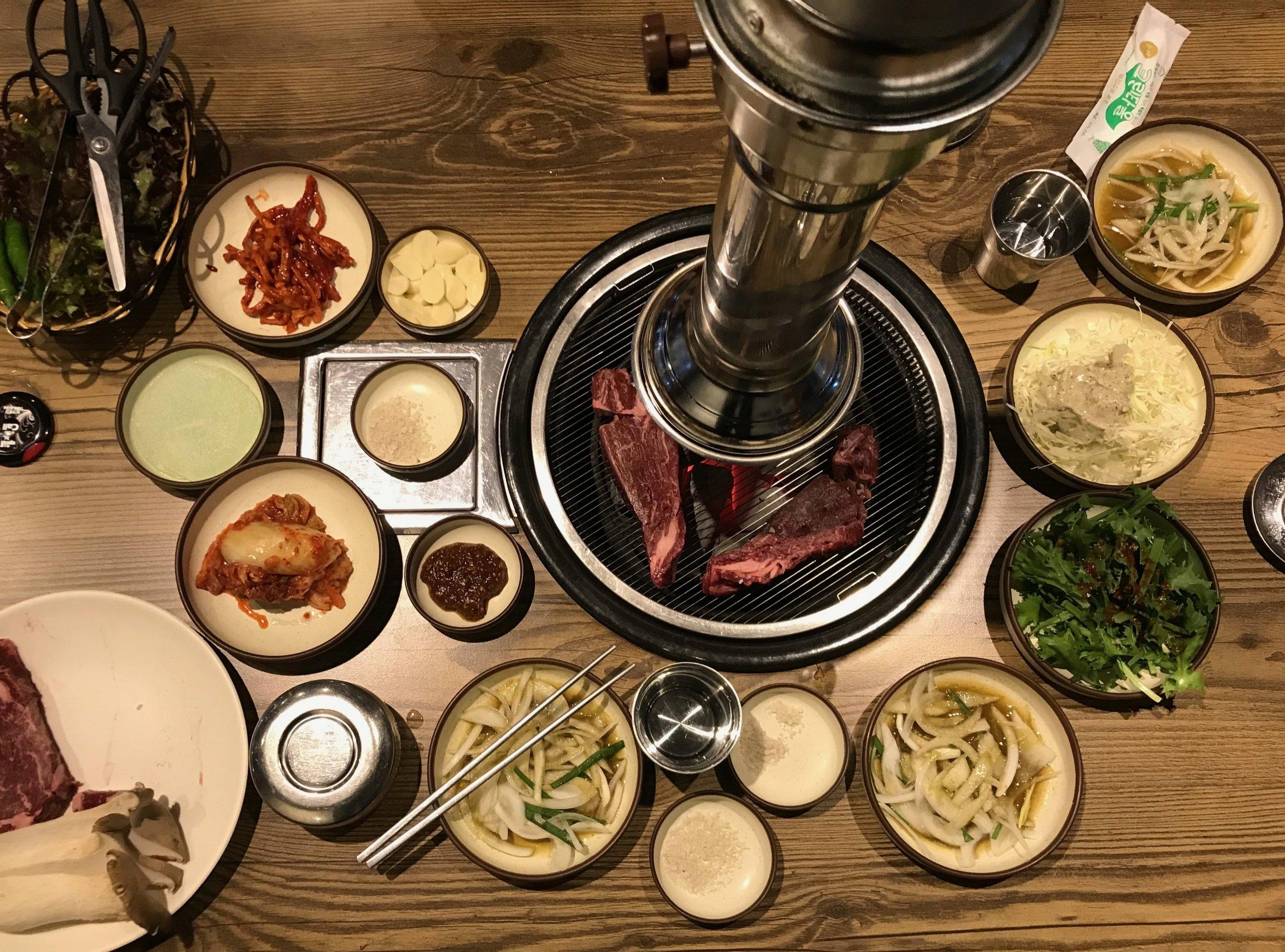 Koreanischer Grill