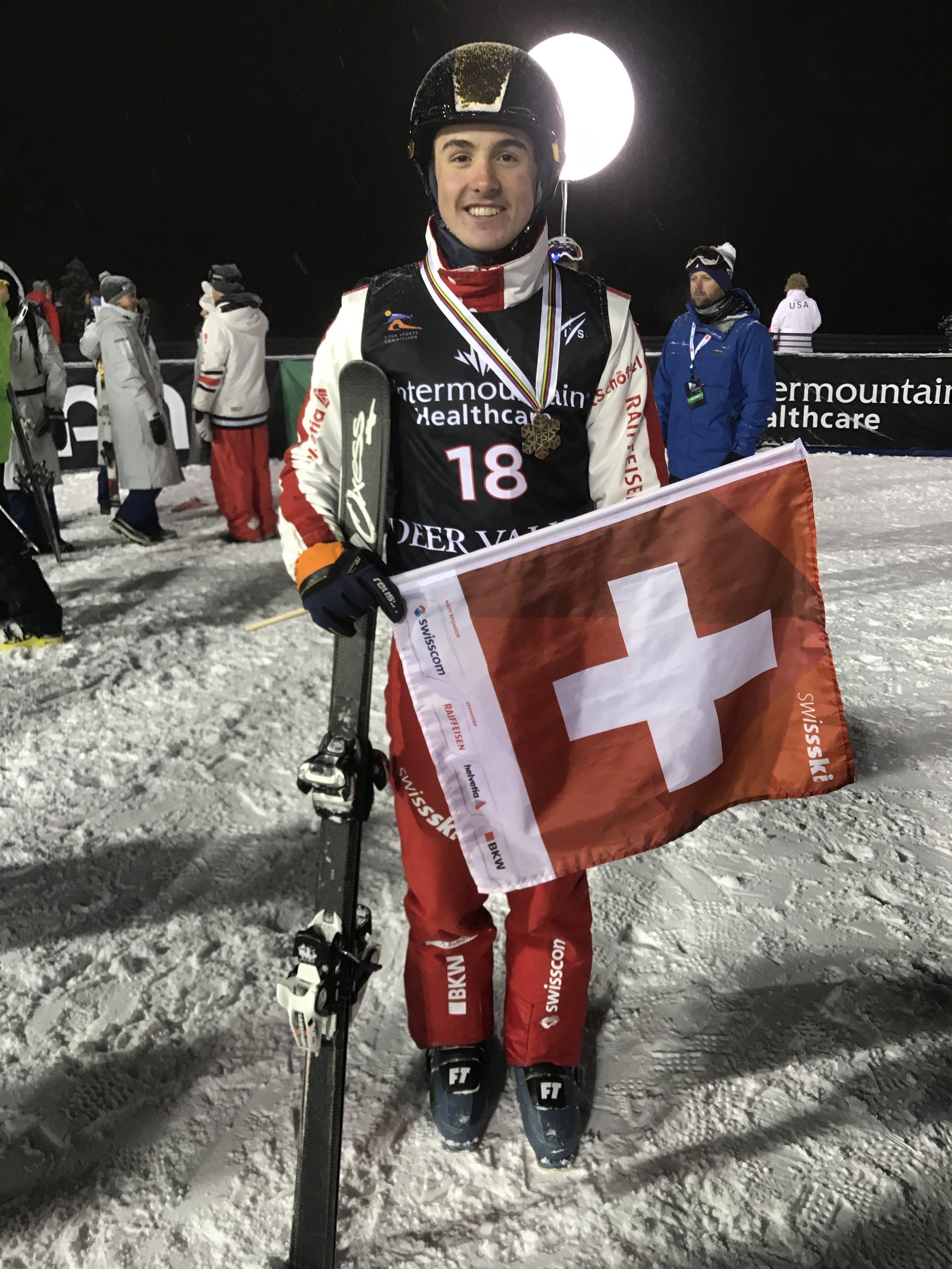 WM-Bronze für Noé Roth.