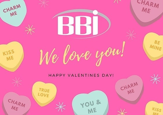 Will you be mine? All of BBI want to wish you a Happy Valentine's Day! Enjoy the holidays and remember that this is the best time to treat yourself and that special sweetheart ❤️🍬❤️🍬❤️🍬 #valentinesday #beemyvalentine #sweethearts