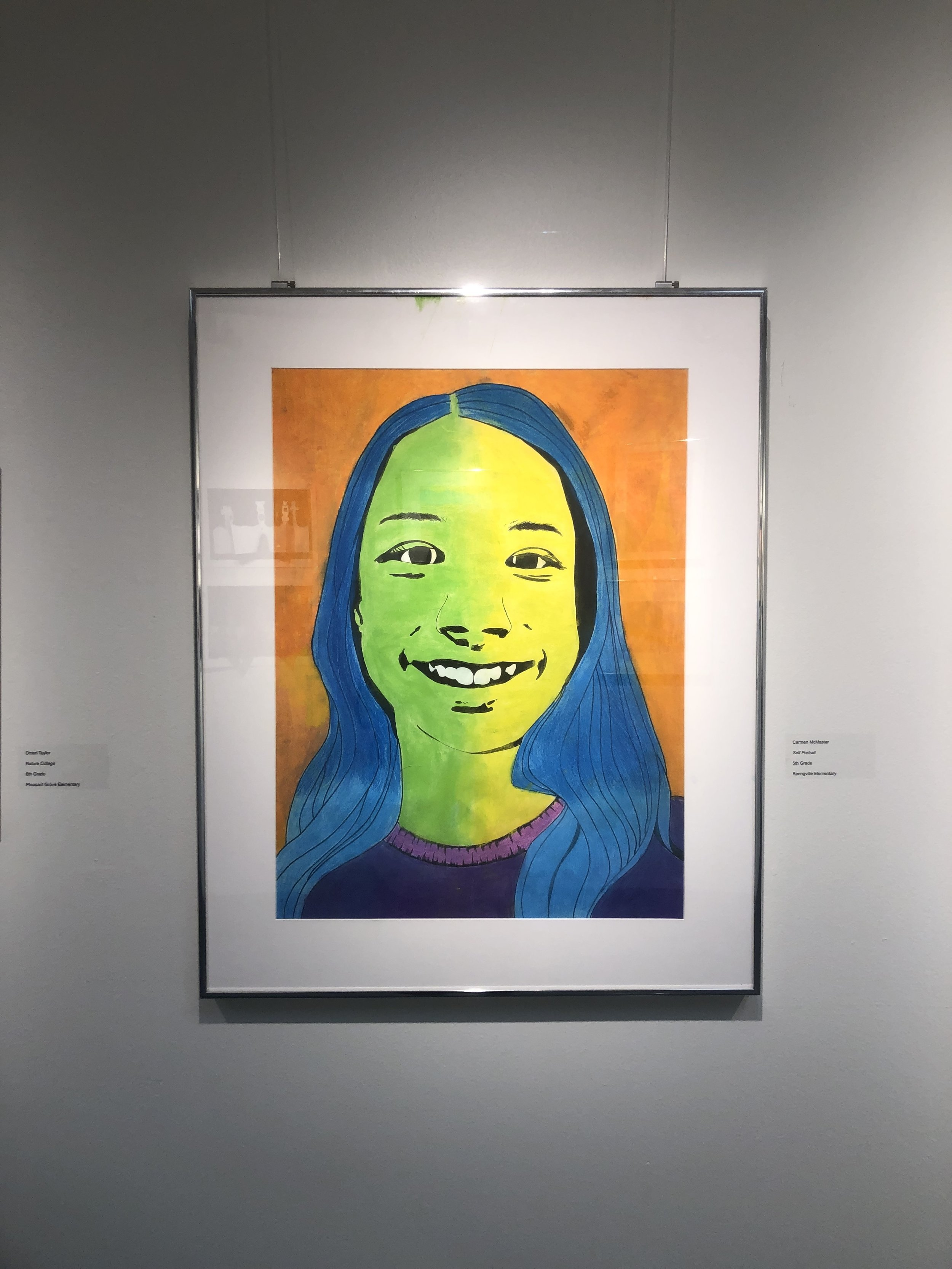Featured in Youth Art Month
