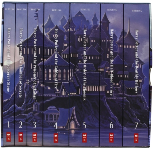 Harry Potter boxed set, paperback, Kazu Kibuishi illustrations, $100