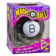 Magic 8 Ball will answer all your questions for only $11.50