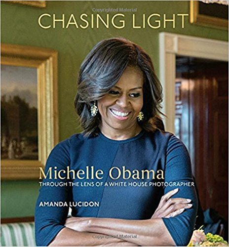 A collection of striking and intimate photographs of Michelle Obama—many never before seen—coupled with personal reflections and behind-the-scenes stories from Official White House Photographer Amanda Lucidon, presented in a deluxe format.  $29.99