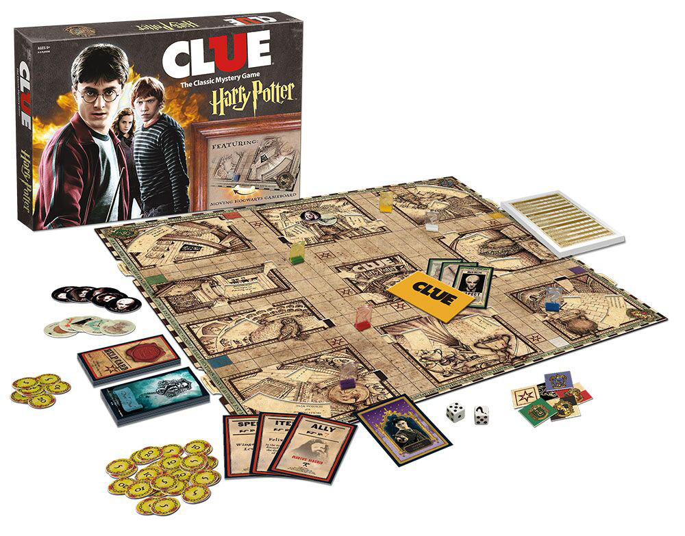 Clue, but like, you know, AT HOGWARTS!!! $41.99