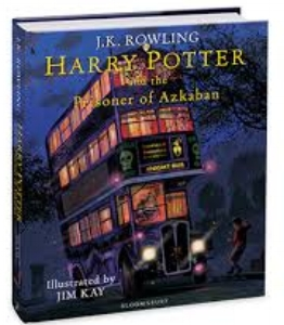 Harry Potter and the Prisoner of Azkaban, fully illustrated edition, $39.99 (and yes of course we have the first two!)