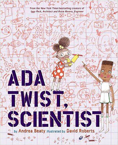 Like her classmates, builder Iggy and inventor Rosie, scientist Ada, a character of color, has a boundless imagination and has always been hopelessly curious. Why are there pointy things stuck to a rose? Why are there hairs growing inside your nose? When her house fills with a horrific, toe-curling smell, Ada knows it's up to her to find the source. $17.95