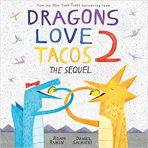 News alert! It has just been discovered that there are NO MORE TACOS left anywhere in the world. This is a huge problem because, as you know, dragons love tacos. If only there was a way for the dragons to travel back in time, to before tacos went extinct. Then they could grab lots of tacos and bring them back! It's the perfect plan, as long as there's no spicy salsa. You remember what happened last time . . . $18.99