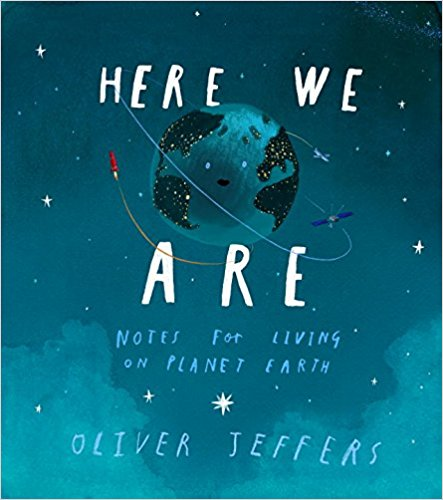 Insightfully sweet, with a gentle humor and poignancy, here is Oliver Jeffers' user's guide to life on Earth. He created it specially for his son, yet with a universality that embraces all children and their parents. Be it a complex view of our planet's terrain (bumpy, sharp, wet), a deep look at our place in space (it's big), or a guide to all of humanity (don't be fooled, we are all people), Oliver's signature wit and humor combine with a value system of kindness and tolerance to create a must-have book for parents. $19.99