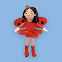 Ladybug Girl fans in your life? We have this great plush doll. $18